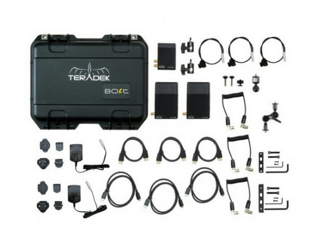 Teradek-Bolt-500 -1 x Transmitter and 2 x Receivers