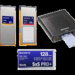Sony 128,64,32GB SxS Pro+